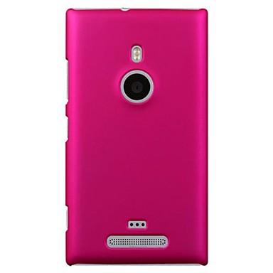Pouzdro Uyumluluk Nokia Lumia 925 / Nokia Nokia Kılıf Buzlu Arka Kapak Solid Sert PC için