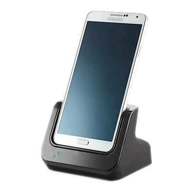 sincronizare încărcător de baterie stație de andocare leagăn dublu suport de ieșire audio pentru Samsung N900 note3
