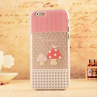 dermatoglyf patroon pc soft cover voor iPhone 6