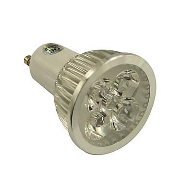 4W 350-450 lm GU10 LED-spotlampen 4 leds Krachtige LED Warm wit Koel wit Natuurlijk wit AC 85-265V