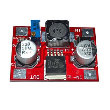 módulo de redução de tensão ajustável LM2596 DC-DC 4.5-30v 1.25-26v de entrada e saída (bea2)