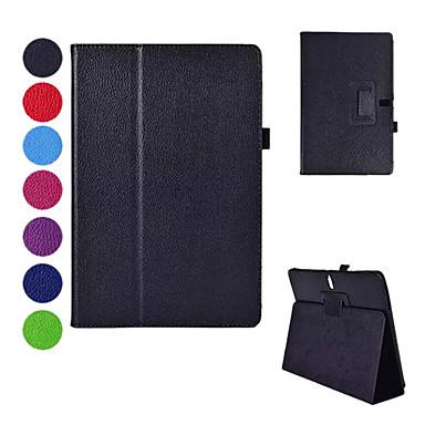 Samsung Galaxy Tab s 10.5 T800 için stand ile pu deri çanta