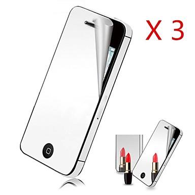 Displayschutzfolie Apple für iPhone 6s iPhone 6 3 Stücke Vorderer Bildschirmschutz Spiegel
