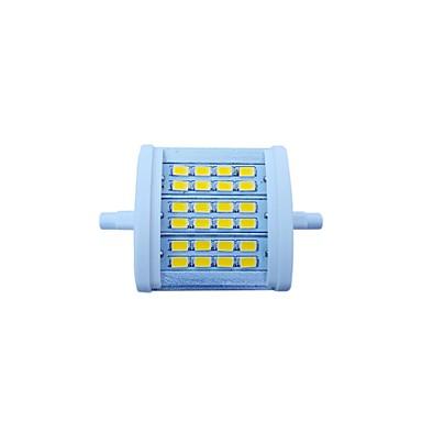 7W R7S LED Flutlichter Eingebauter Retrofit 24 SMD 5630 770 lm Warmes Weiß Dekorativ AC 85-265 V
