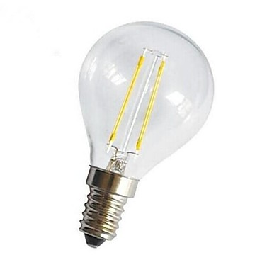 E14 E26/E27 LED-gloeilampen G45 4 leds COB Decoratief Warm wit 400lm 2800-3200K AC 220-240V