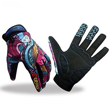 Activiteit/Sport Handschoenen Fietshandschoenen Houd Warm Ademend Beschermend Lange Vinger Gaas Fietsen / Fietsen Fitness Heren Unisex