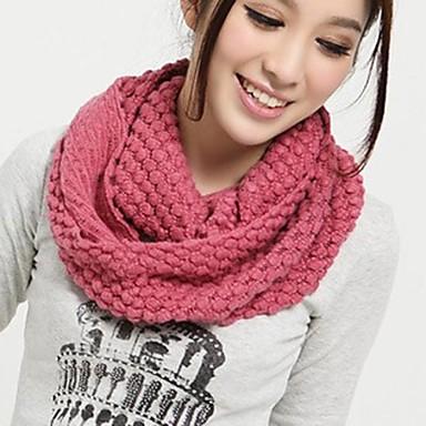 Mulheres Casual Roupa de Malha Inverno Amarelo Rosa claro Vinho Rosa escuro Melancia