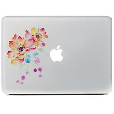 1 τμχ Αυτοκόλλητο για Προστασία από Γρατζουνιές Λουλούδι Μοτίβο MacBook Air 13''