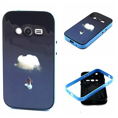 Pentru Samsung Galaxy Note Anti Șoc / Model Maska Carcasă Spate Maska Decor TPU Samsung Ace 4