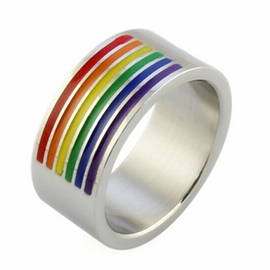 Γυναικεία Δακτύλιος Δήλωσης Τιτάνιο Ατσάλι Γάμου Πάρτι Καθημερινά Causal Αθλητικά Κοστούμια Κοσμήματα