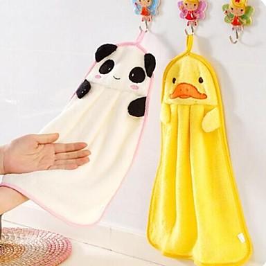 cartoon vorm multifunctionele polyester handdoek badkamer gadget