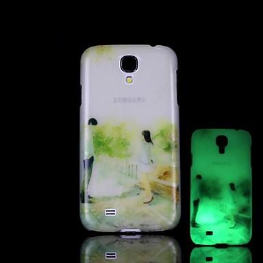 Voor Samsung Galaxy hoesje Glow in the dark / Patroon hoesje Achterkantje hoesje Cartoon PC Samsung S4 Mini