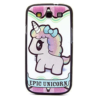 caso difícil padrão do unicórnio para i9300 Samsung Galaxy S3