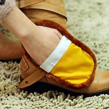 pantof multifuncțional moale lână curat imitație (culoare aleatorii)