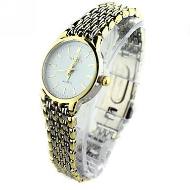 Γυναικεία Καθημερινό Ρολόι Χαλαζίας κράμα Μπάντα Χρυσό Χρυσαφί
