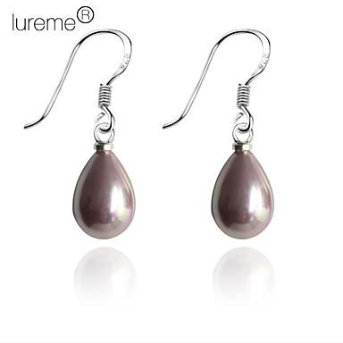 Lureme®Water Drop Shaped Pearl Earring