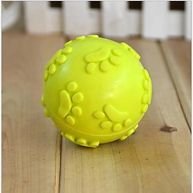 Kugel / Kau-Spielzeug Fußabdruck Gummi Für Katzenspielsachen / Hundespielzeug
