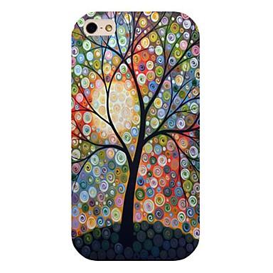 dot boom patroon achterkant van de behuizing voor de iPhone 4 / 4s
