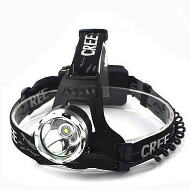 Hoofdlampen Koplamp LED 1800 lm 3 Modus Cree XM-L T6 Waterbestendig Multifunctioneel