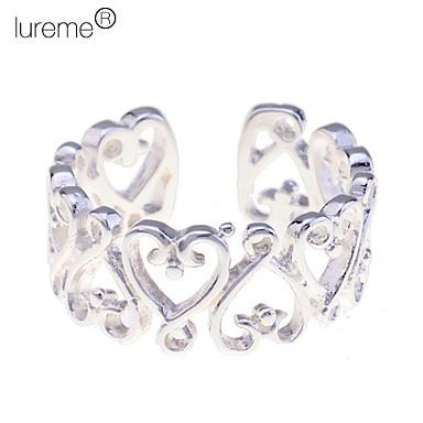 Yüzükler Mücevher alaşım KadınAyarlanabilir Gümüş