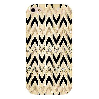 zwart en goud patroon achterkant van de behuizing voor de iPhone 4 / 4s