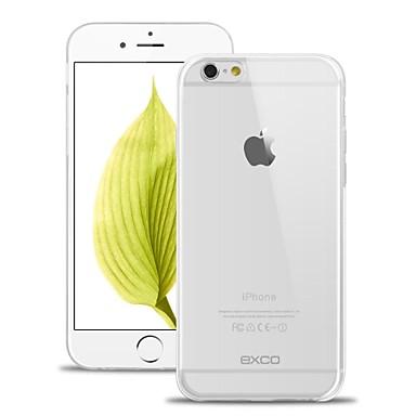 Exco ultra dunne slank 0.3mm transparant soft kristal TPU Case voor iPhone 6s plus / 6 plus