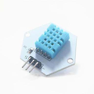 ψηφιακή θερμοκρασία / υγρασία μονάδα μέτρησης για δοκιμή Arduino - λευκό + μπλε