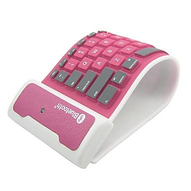 pliant tastatură silicon Bluetooth pentru iPad și alte (Color asortate)