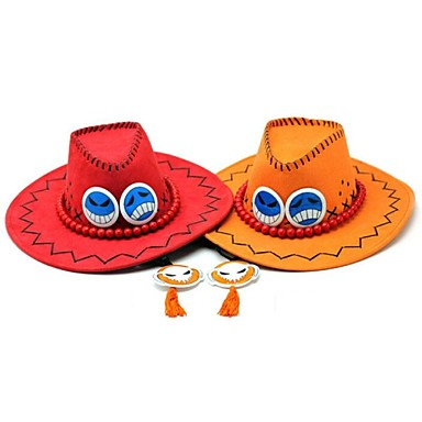 ένα κομμάτι Portgas · δ · άσος καπέλο cosplay