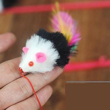Brinquedo de Provocação Brinquedo com Penas camundongo Têxtil Para Gato Brinquedo Para Gato