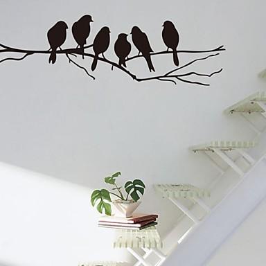 Wand-Sticker Tier Wandaufkleber Dekorative Wand Sticker, Vinyl Haus Dekoration Wandtattoo Wand