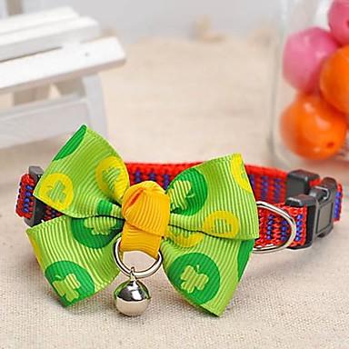 Hunde Halsbänder Regolabile/Einziehbar / Trompetenärmel Grün Nylon