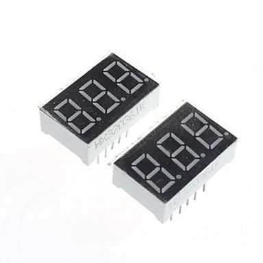 compatible (voor Arduino) 3-cijferig display module - 0.36in (2 stuks).