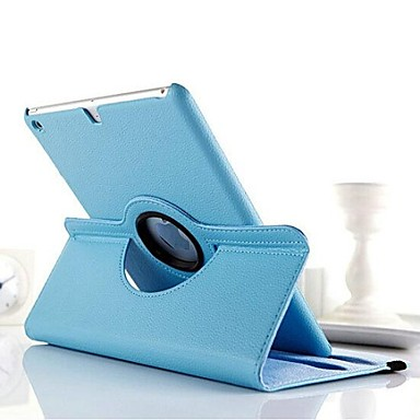 Pouzdro Uyumluluk iPad 4/3/2 Satandlı 360° Dönüş Tam Kaplama Kılıf Solid PU Deri için iPad 4/3/2