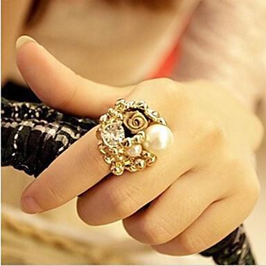 Κρίκοι Γάμου / Πάρτι / Καθημερινά / Causal Κοσμήματα Κράμα ΒέρεςΡυθμιζόμενο Χρυσαφί / Transparent / Ιβουάρ