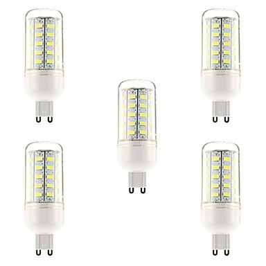 10W G9 E26/E27 LED-maïslampen T 48 leds SMD 5730 Natuurlijk wit 1000lm 6000-6500K AC 220-240V
