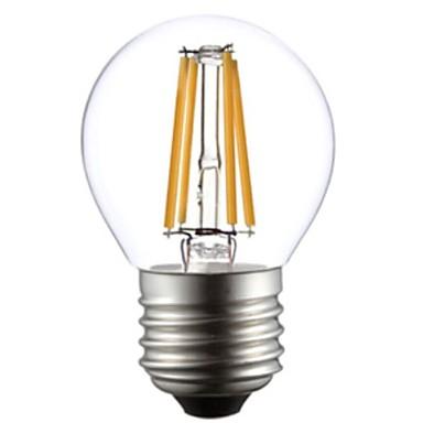 1pc 4 W 2800-3200 lm E26 / E27 LED Filaman Ampuller G45 4 LED Boncuklar COB Sıcak Beyaz 220-240 V / RoHs