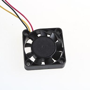 Pc şasi cpu için 4010s, iki çekirdekli kablo soğutma fanı 4x4cm
