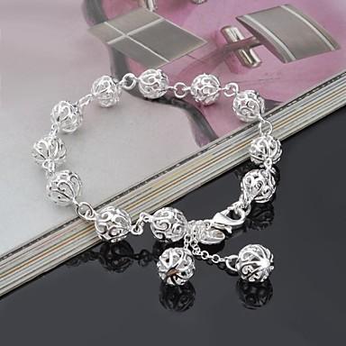 Dames Armbanden met ketting en sluiting Titanium Staal Legering Sieraden Bruiloft Feest