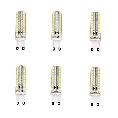 4W G9 Lâmpadas Espiga 72 LEDs SMD 2835 Regulável Branco Quente Branco Frio 350-400lm 6000-6500K AC 220-240V
