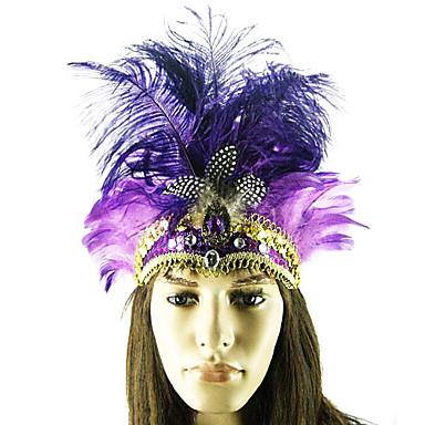 arabia príncipe roxa pluma de avestruz estilo indiano carnaval