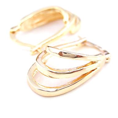 Γυναικεία Κρίκοι Χαλκός Κοσμήματα Γάμου Πάρτι Καθημερινά Causal Αθλητικά