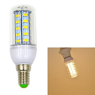 550 lm E14 LED Λάμπες Καλαμπόκι T 36 leds SMD 5730 Θερμό Λευκό AC 220-240V
