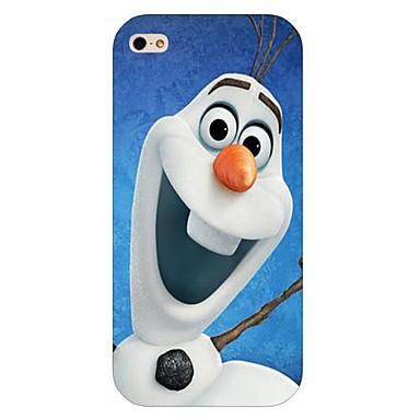 sneeuwpop patroon harde achterkant van de behuizing voor de iPhone 6