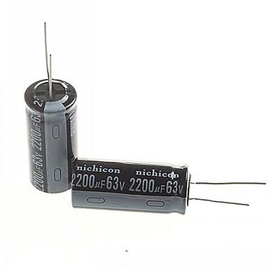 capacitor eletrolítico 2200uf 63V (2pcs)