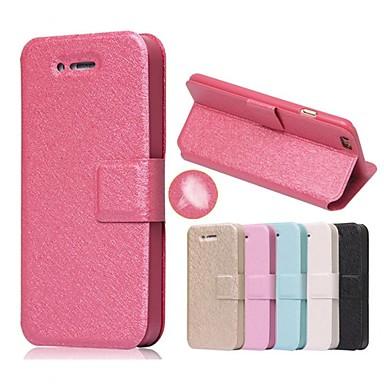 Capinha Para Apple Capinha iPhone 5 iPhone 6 iPhone 6 Plus iPhone 7 Plus iPhone 7 Porta-Cartão Com Suporte Flip Capa Proteção Completa