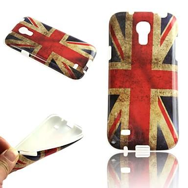 Para Samsung Galaxy Capinhas Estampada Capinha Capa Traseira Capinha Bandeira TPU Samsung S4 Mini