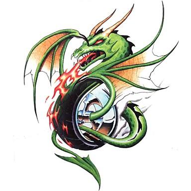 Tatoeagestickers Dieren Series Groot formaat Onderrrug Waterproof Dames Heren Volwassene Boy Tiener Tijdelijke tatoeageTijdelijke