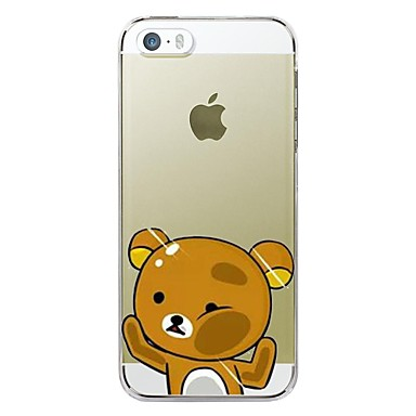 Hülle Für Apple iPhone X / iPhone 8 Plus / iPhone 7 Transparent / Muster Rückseite Cartoon Design Weich TPU für iPhone X / iPhone 8 Plus / iPhone 8