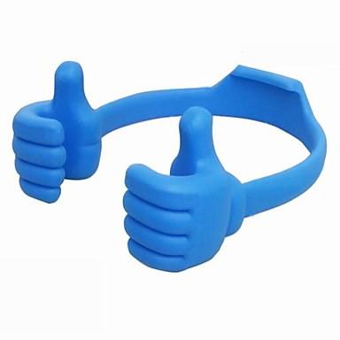 Büro Evrensel / Tablet Montaj Standı Tutucu Ayarlanabilir ayaklık Evrensel / Tablet Silikon / Plastik Tutacak